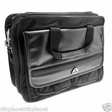 "Kyotek  =17"" Notebook Laptop Carry Case 331B Carry on luggage padlock key strap"
