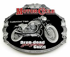 Moto Guzzi Belt Buckle Classic Bike Motorcycle Authentic Officially Licensed