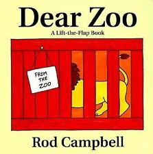 Dear Zoo Lift The Flap Classic Board Book Rod Campbell Board Book 20 Years VGC
