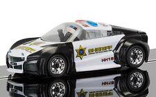 C3709 ranura de coche de la policía de construcción rápida de Scalextric Sheriff Coche Luces Y Sirena-NUEVO Reino Unido