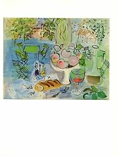 "1970 Vintage RAOUL DUFY ""STILL LIFE"" COLOR offset Lithograph"