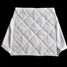 COMFORTNIGHTS QUILTED POLYCOTTON COVER FOR BED WEDGE PILLOW