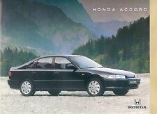 Honda Accord Prospekt 5/94 car brochure 1994 Auto PKWs Japan Asien Autoprospekt