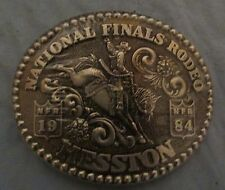 NEW Hesston Belt Buckle 1984 National Finals Rodeo Second Edition