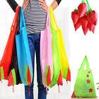 1pcs Strawberry Shopping Bags Foldable Tote Eco Reusable Storage Handbag Nylon