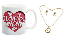 meSleep I Love You Mom Tea Cofffee Mug - Mothers Day with free Set