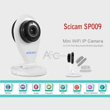 720P HD WiFi Two-way Wireless IP Webcam Network CCTV Camera with IR Night Vision