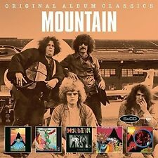 MOUNTAIN - ORIGINAL ALBUM CLASSICS 5 CD NEU