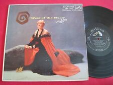 FEMALE VOCAL JAZZ LP - LEE WILEY - WEST OF THE MOON (1957) RCA LPM-1408 VG+