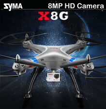Syma X8G RC Quadcopter 2.4G 4CH 6-axis Gyro Drone 1080P 8MP HD Wide Angle Camera