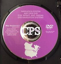 2003 2004 2005 NISSAN 350Z COUPE ROADSTER NAVIGATION MAP DISC CD DVD 6.11 UPDATE