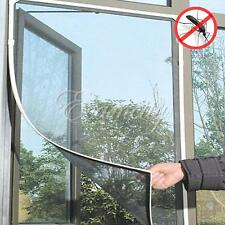 DIY Insect Fly Bug Mosquito Door Window Net Mesh Screen Curtain Protector 2pcs