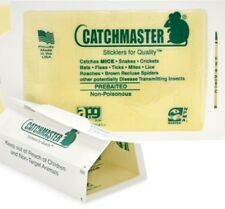 72 Catchmaster Mouse Insect Glue Boards 72MB Mice Roach Spider Flea Sticky Trap