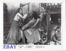 Genevieve Bujold swordfights VINTAGE Photo Swashbuckler