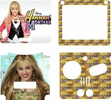 Gameboy Advance SP HANNAH MONTANA Sticker Skin Decal ROYAUME-UNI
