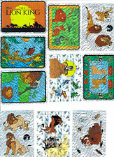 LION KING SET STICKER SET  PRISM  ** 2 SETS **  20 STICKERS (10 PER SET)
