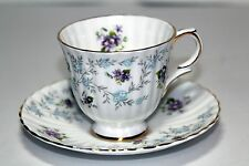 "Vintage Royal Stafford "" Enchantment  ""  Teacup and Saucer c1969 Made in England"
