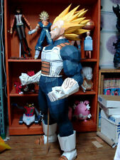 "Big 3D DIY Paper Model Kit 1:1 Scale Japanese Anime Dragon Ball Vegeta 165cm 65"""
