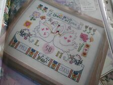 """una celebrazione dell'amore"" Lesley teare cross stitch chart"