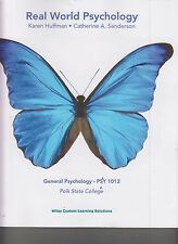 Real World Psychology Custom Ed For Polk State College with Access Code NEW