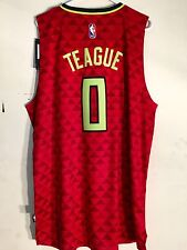 Adidas Swingman 2015-16 NBA Jersey Hawks Jeff Teague Red Alt sz XL