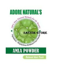2 X 100gm Adore Natural's Amla  Gooseberry Powder 100% Natural Remedy for Beauty