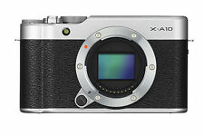 Fujifilm  X-A10 Mirrorless Camera XC16-50mm F3.5-5.6 OIS ll Kit- Silver
