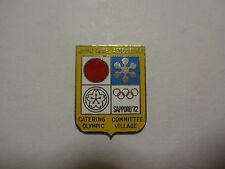 1972 SAPPORO OLYMPIC PIN BADGE JAPAN PINS