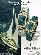 Publicité advertising 1997 Les Montres Michel Herbelin Newport