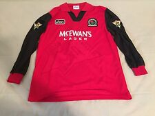 "1995-1996 Blackburn Rovers Away (LS) No.9 ""Shearer"" Player Worn Jersey"