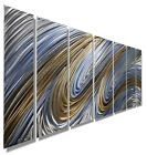 Modern Abstract Metal Home Wall Art Sculpture Painting Accent - Heavenly Flight