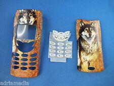 Front back cover teclado Nokia 8210 carcasa cáscara celular cáscara teclado numérico perro nuevo