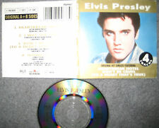 "RARE 3"" Maxi CD Elvis Presley ‎– Heartbreak Hotel Don't Be Cruel Hound Dog"