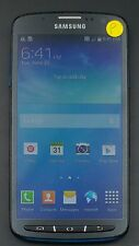 Samsung Galaxy S4 Active I537 4G ATT ONLY BLUE CellPhone Android POOR w/o CAP