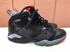 EUC AIR JORDAN BASKETBALL SHOES US 12  NIKE 428817-003 MICHAEL BLACK FIRE RED