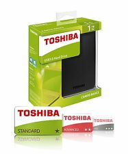 "NEW 1TB 2.5"" Toshiba Canvio Basics USB3.0 Portable External HDD Hard Disk Drive"