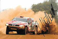 Ari Vatanen SIGNED, Nissan Pickup , Paris Daker Rally 2005