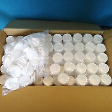 150 Wholesale White 1oz 30ml Plastic Cosmetic Double Wall Cream Jars Containers