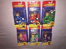 6x ALVIN and the CHIPMUNKS ELEANOR JEANETTE BRITTANY ALVIN SIMON THEODORE *NEW*