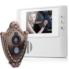 2.8inch LCD Digital Peephole Viewer Door Eye Doorbell Video Color IR Camera SO
