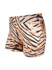 Running Bare MR Tiger Print Shorts Size 8