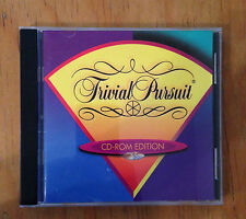 TRIVAL PURSUIT GAME- CD-ROM Edition (PC, 1996)  (0566)