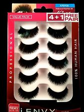 I ENVY BY KISS EYELASHES JUICY MULTI PACK 38 KPEM38 VALUE PACK HUMAN HAIR LASHES
