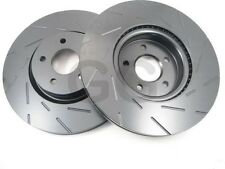 Ford Focus ST225 mk2 2.5 Front Brake Discs EBC Ultimax Grvd Uprated PAIR USR1434