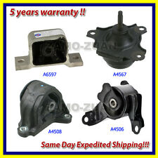 02-06 Acura RSX 2.0L Engine Motor Mount w/ AT 4 PCS. A6597 A4567 A4508 A4506