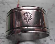 Old Napkin Ring HMT Leasowe Castle 1915-17 WWI troop carrier - Noteable Sinking