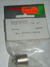vintage ROBBE 8980/0020 SERVOMOTOR fuer S-211-RS-60 motor MOTEUR servo 16-19 mm