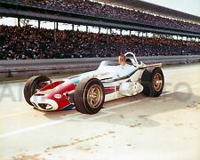 A J FOYT 1964 INDY 500 WINNER SHERATON THOMPSON SPECIAL AUTO RACING 8X10 PHOTO