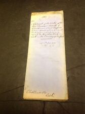 Old Staffordshire Document Leek (Nr Buxton Rd)smith Of Wilkinson St. Sheffield,