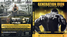 Generation Iron Extended Director's Cut Bluray + Extra Footage / Phil Heath New